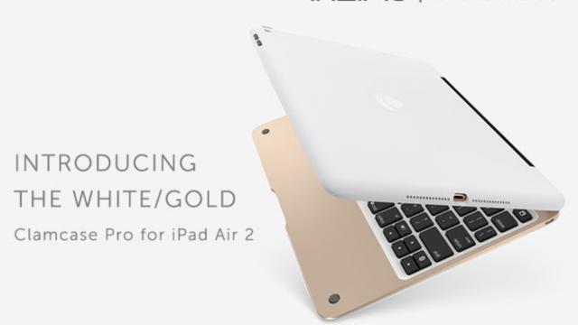 Incipio launches ClamCase Pro Gold for Apple's iPad Air 2