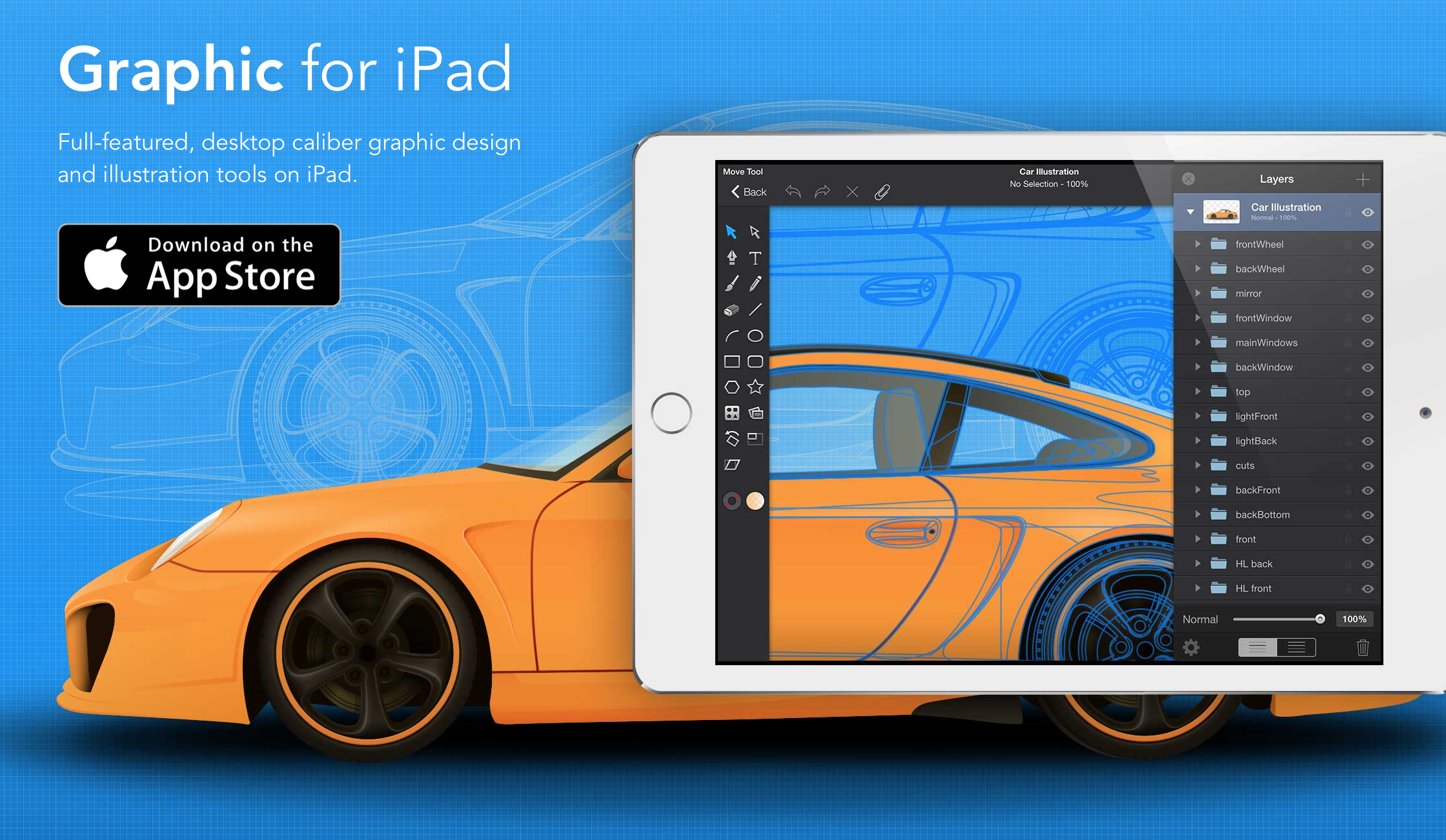 Graphic for iPad gets split-screen support, adds iOS 9 optimization