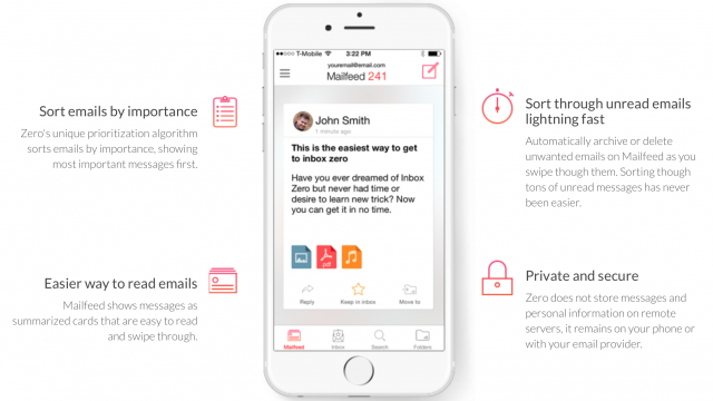 Achieve email nirvana with Zero, an email client for iOS