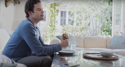 Bill Hader returns in a hilarious, new iPhone 6s ad