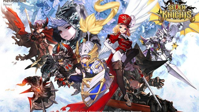 Lead your warriors to save the kingdom in Seven Knights