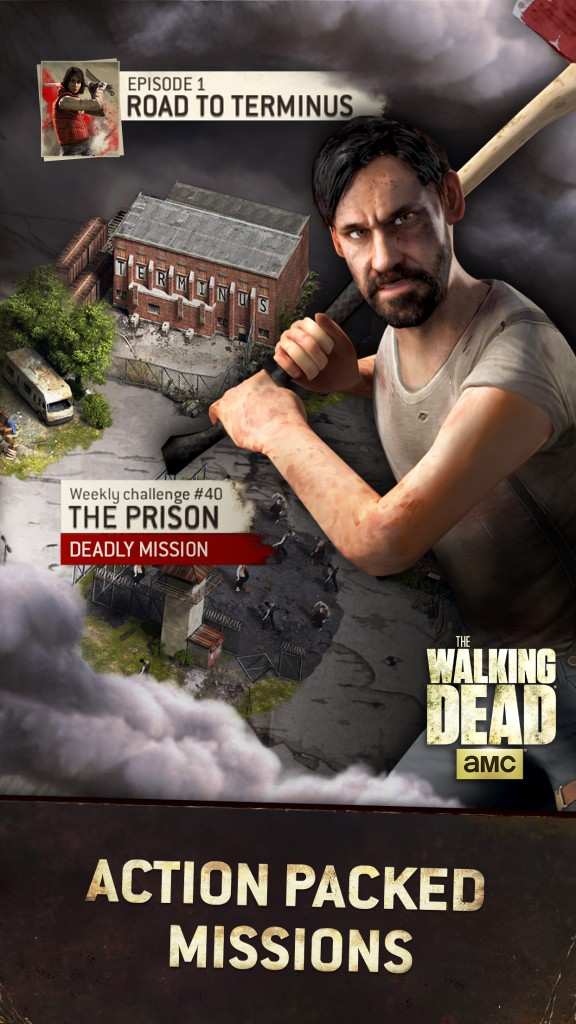 The Walking Dead: No Man's Land for iOS.