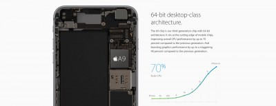 Apple says different A9 chips vary in battery life only 2 to 3 percent