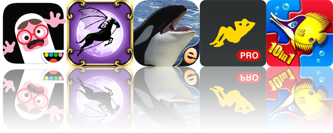 Today's apps gone free: Toca Boo, Spooky Hoofs, Orca Puzzles and more