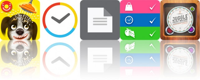 Today's apps gone free: Pepi Bath 2, Kiwake Alarm Clock, TextCenter and more