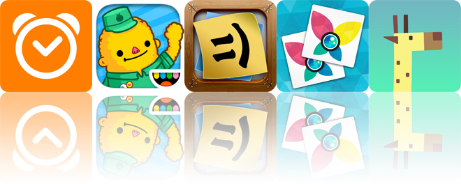 Today's apps gone free: Sleep Cycle, Toca Life: Town, Stickyboard 2 and more