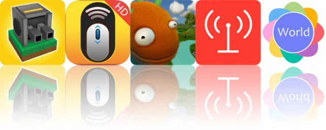 Today's apps gone free: Block Fortress, WiFi Mouse HD, Monster's Socks and more