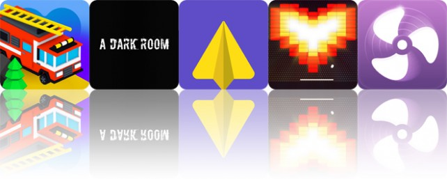 Today's apps gone free: City Cars Adventures, A Dark Room, Weafo and more