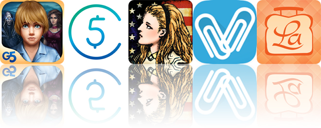Today's apps gone free: Lost Souls, 5coins, Alice in America and more