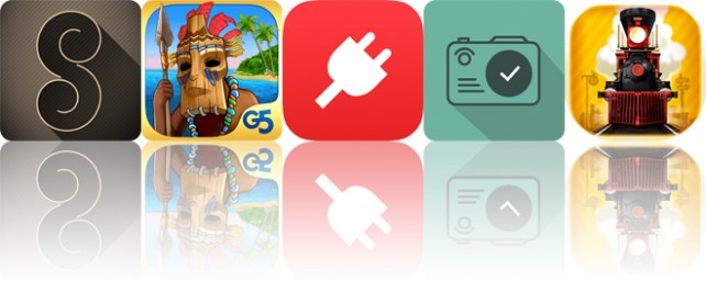 Today's apps gone free: Paper Spiral, The Island: Castaway 2, PowerAid and more