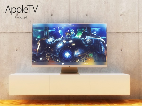 Apple wants to sell you a television set, just not today