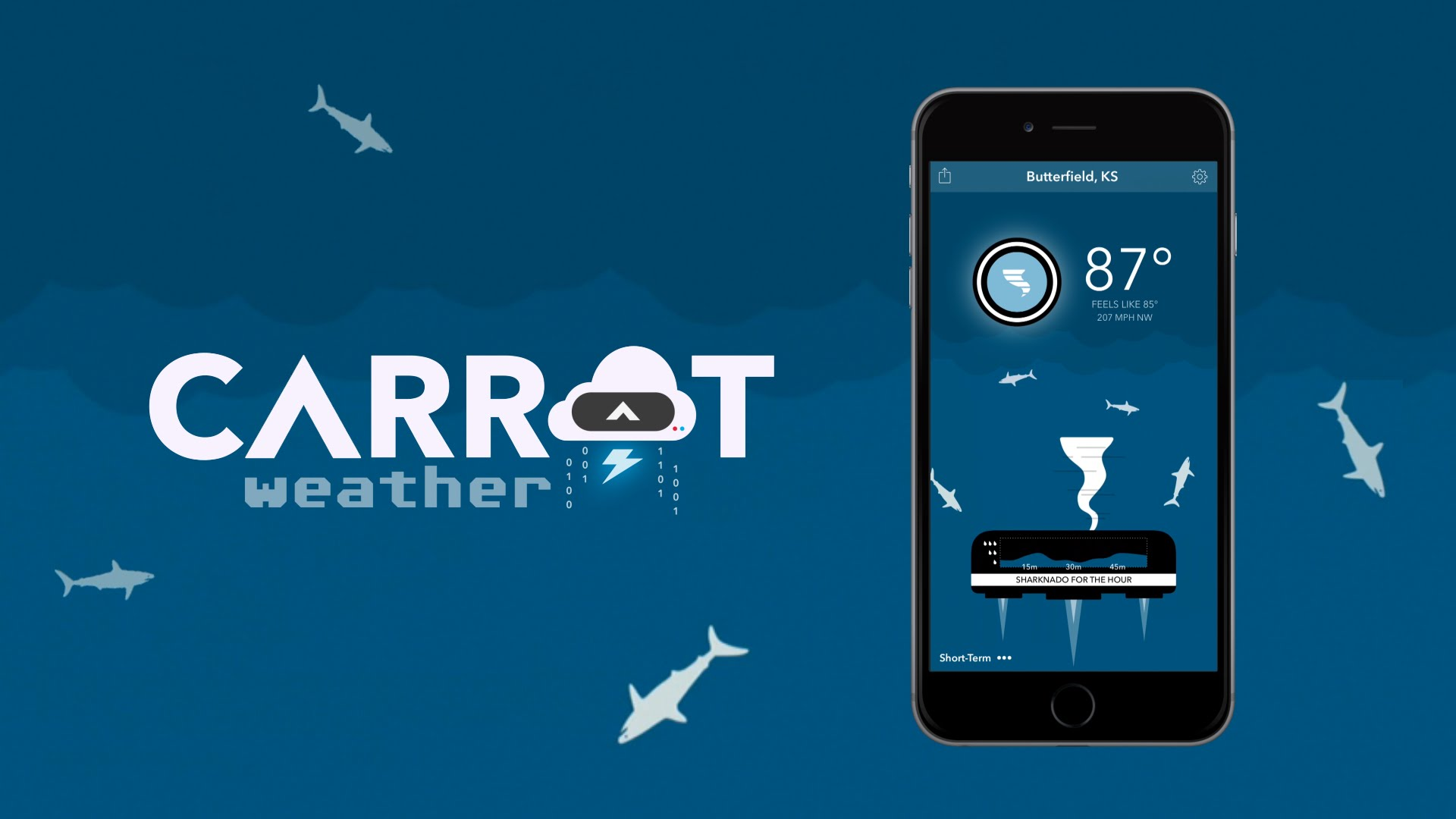 Carrot Weather adds more Apple Watch and iPhone 6s support