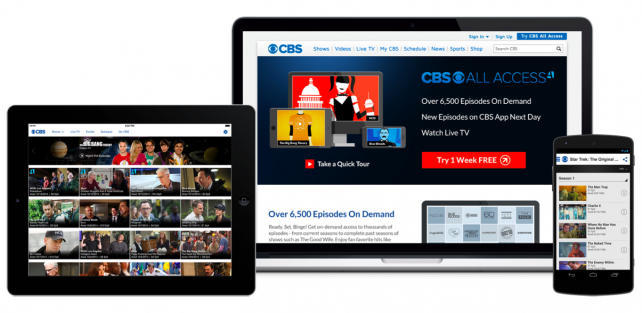 CBS All Access, NBC and Made to Measure channels added to the Apple TV