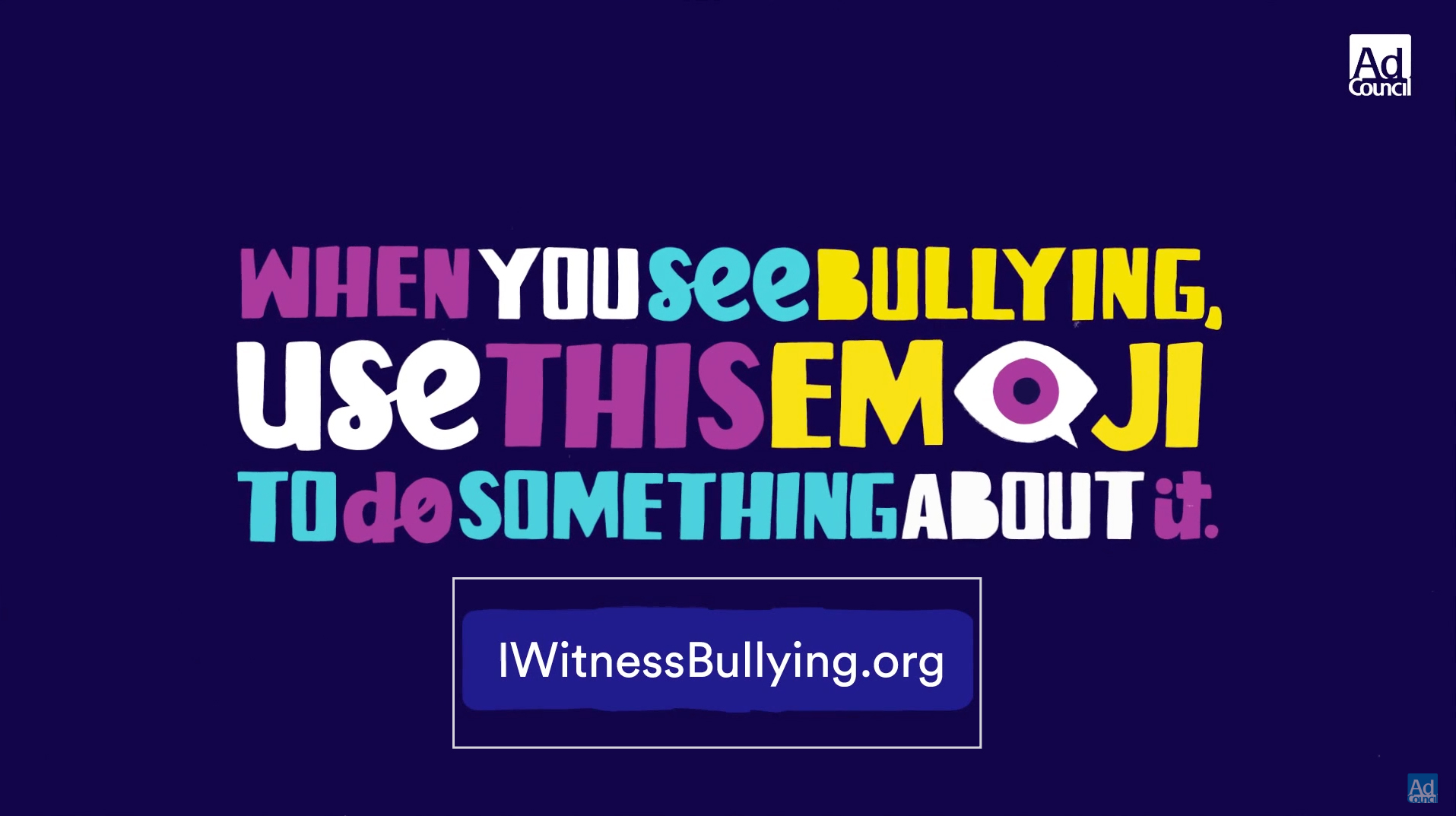 One emoji in Apple's iOS 9.1 represents a new anti-bullying campaign, I Am A Witness