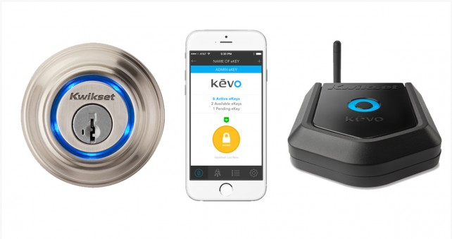 Kwikset unveils its new Plus gateway that adds remote access to a Kevo lock