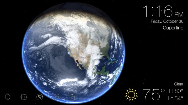 Beautiful weather app Living Earth is updated with 3D Touch and more