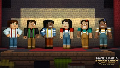 The first episode of Minecraft: Story Mode will arrive later this month