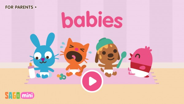Your kids will love playing with the Sago Mini Babies