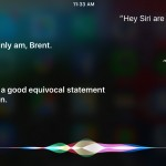 The iPhone 6s is listening for the 'Hey Siri' command, most of the time