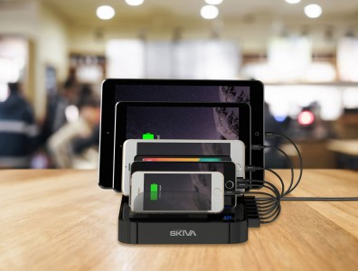 Review: Skiva StandCharger 7-Port Multi USB Charging Station