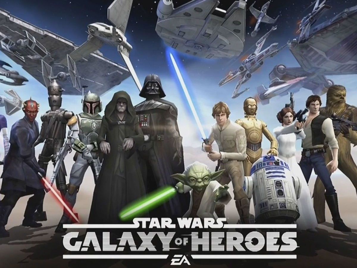 Choose a path, Light or Dark, in Star Wars: Galaxy of Heroes