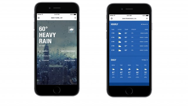 A big update for The Weather Channel iPhone app rumbles onto the App Store