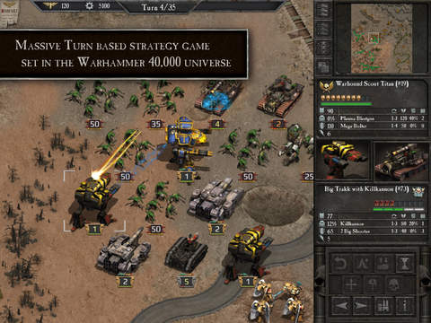 Warhammer 40,000: Armageddon.
