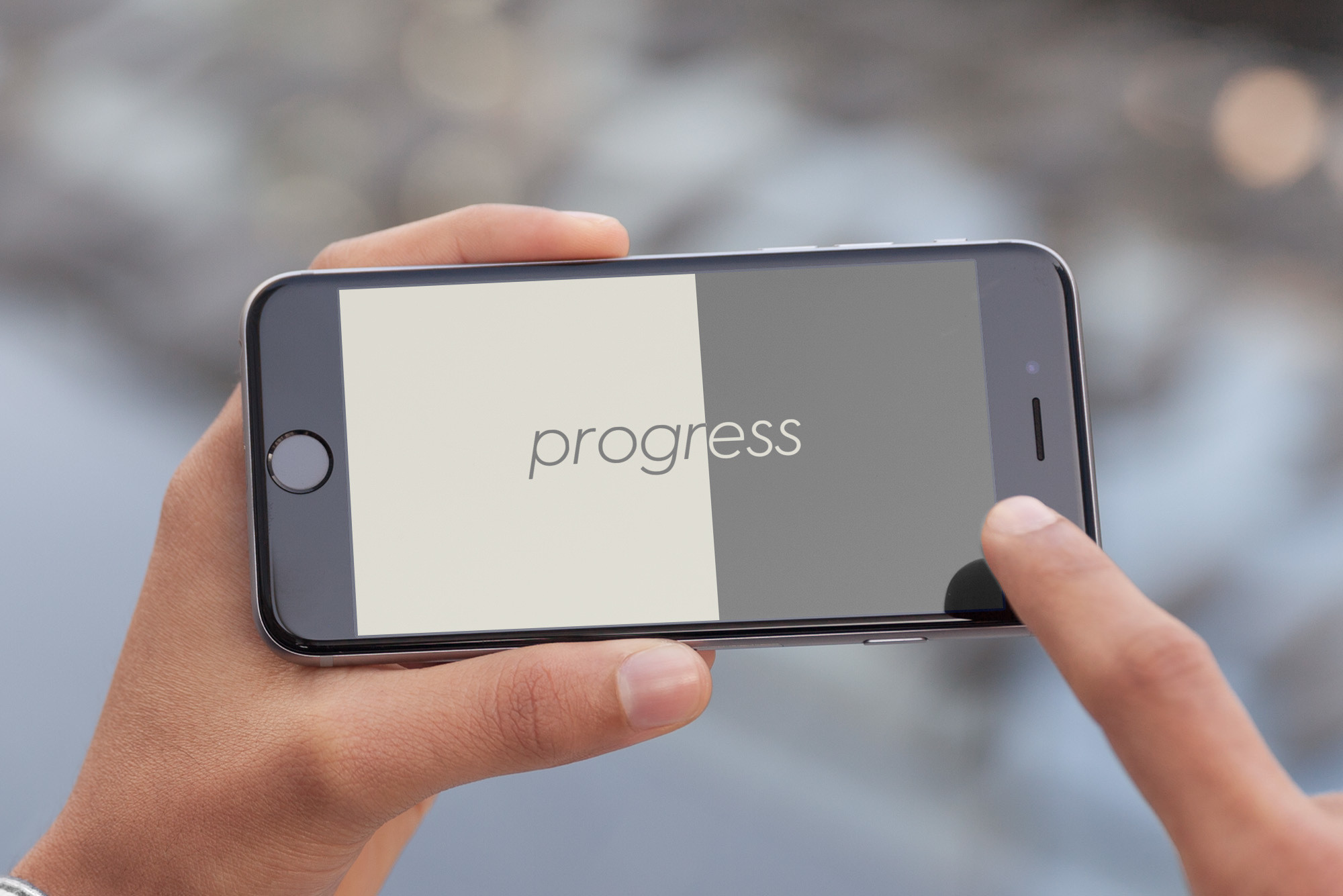 Put your nose to your phone in the puzzler Progress to 100