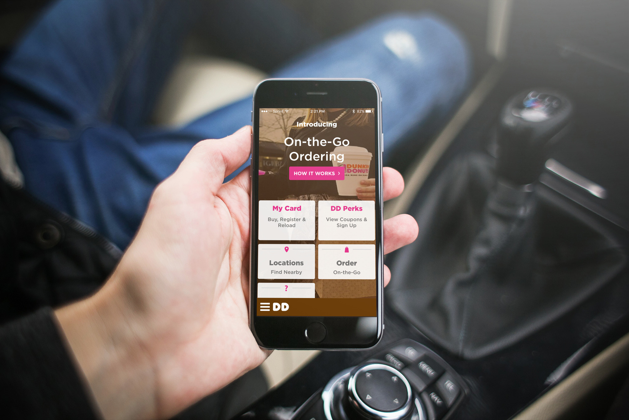 Get your Dunkin' Donuts with DD On-the-Go Ordering Portland
