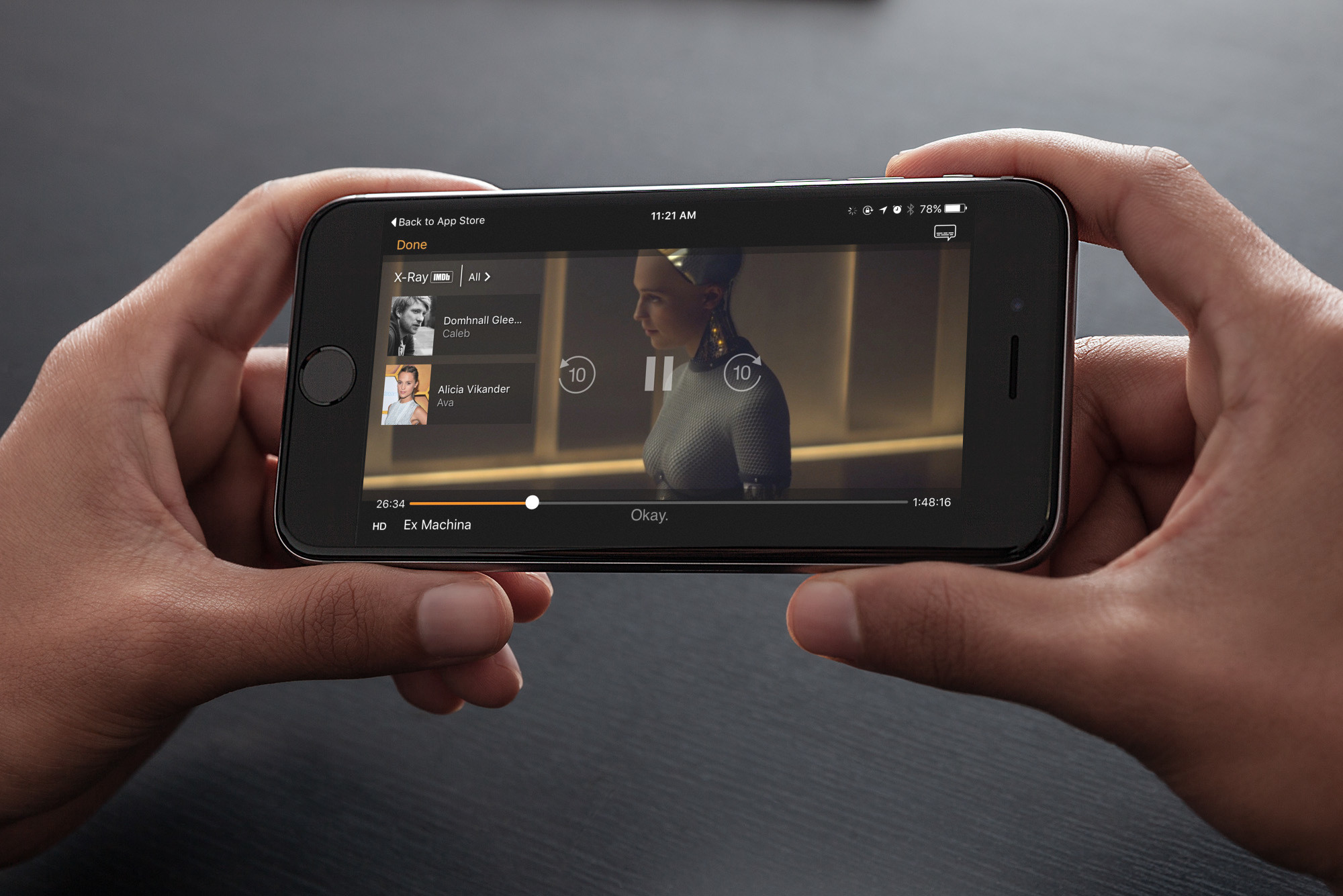 Enjoy X-Ray and more great new features on Amazon Video for iOS