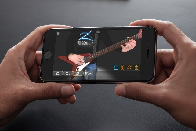 Learn six-string from a lifelike animation in Final Guitar