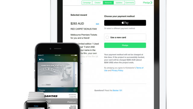 Hey, mate! Apple Pay is now available in Australia to Amex users