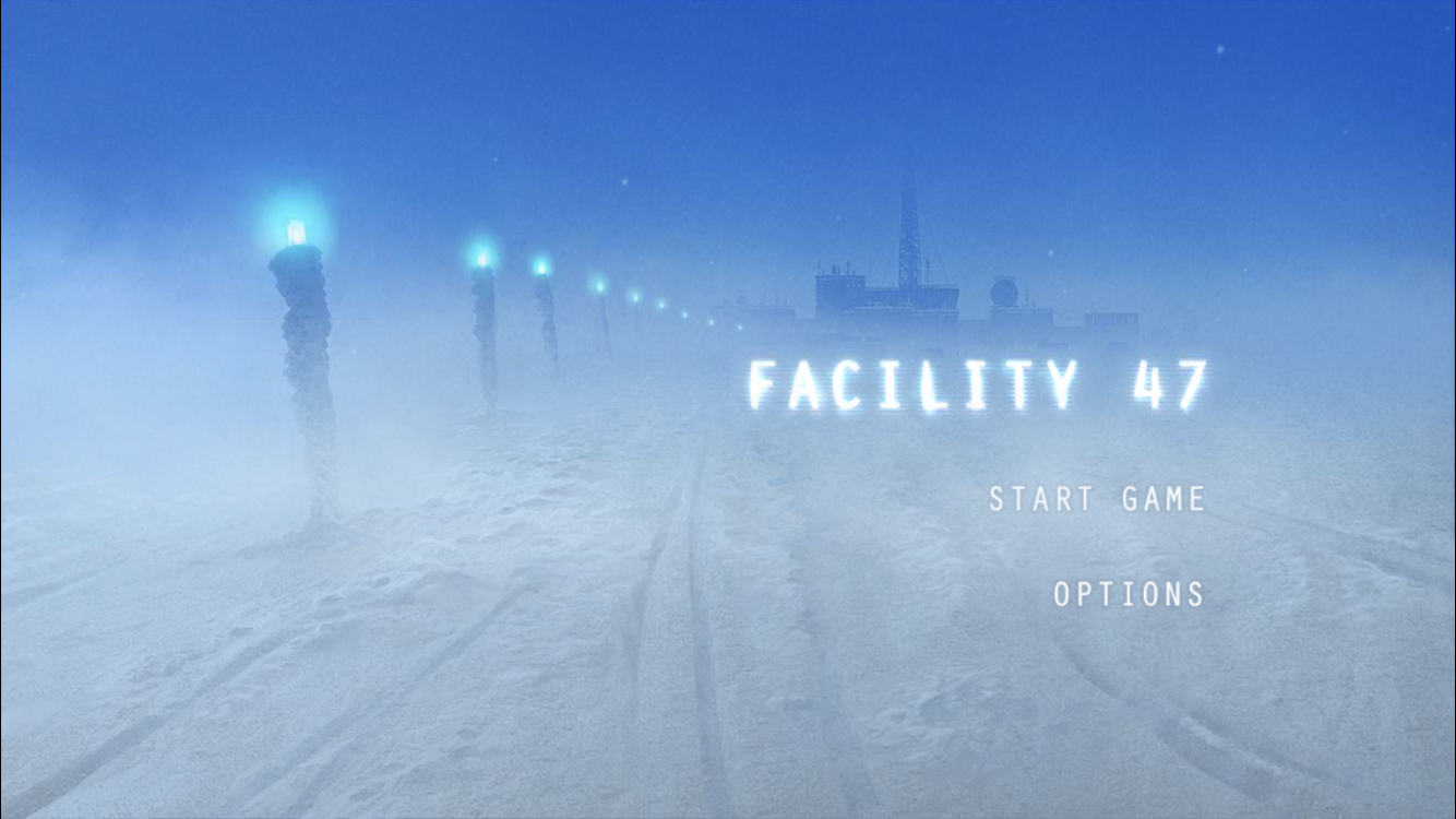 Discover the mystery as you find a way out of Facility 47