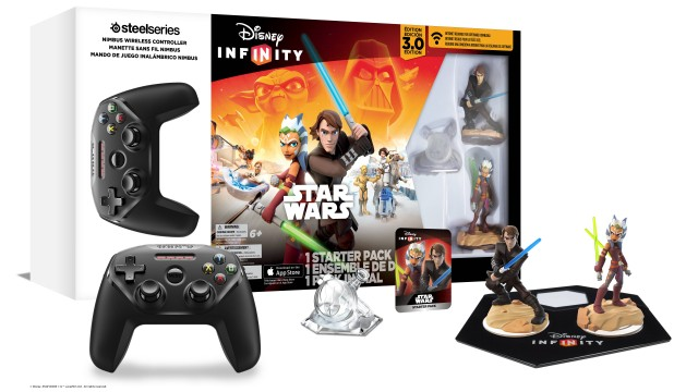 Disney launches a 'Star Wars' Infinity 3.0 pack for the new Apple TV