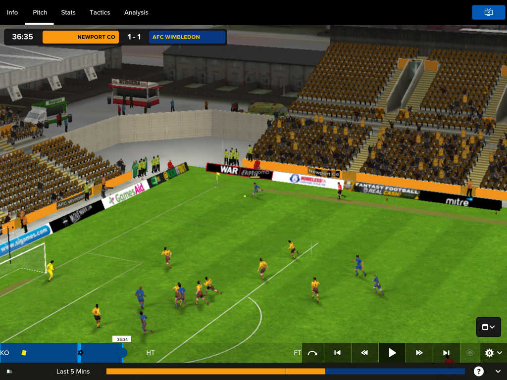 Football Manager Touch 2016 screenshot 1