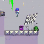 Go Pogo, a pogo stick platformer from Nitrome, is on the way