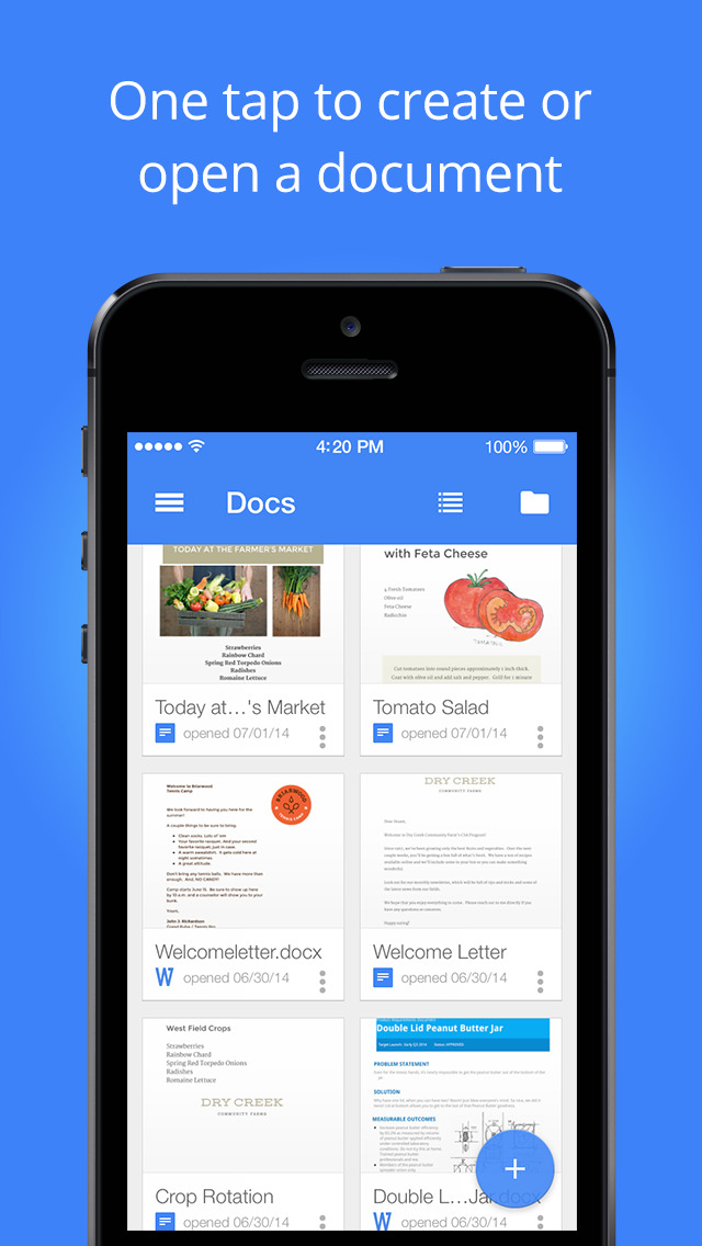 Google updates Docs, Play Books, Classroom and Hangouts for iOS