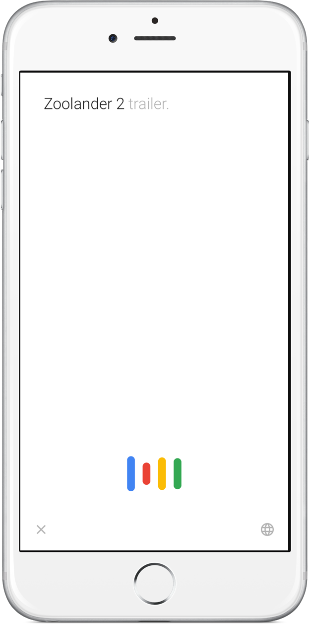 Google search wavelength