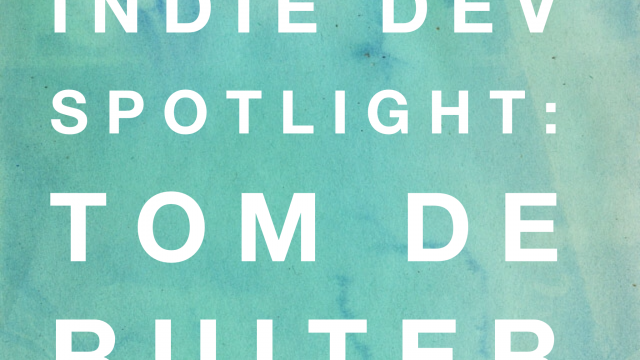 Indie Dev Spotlight: Watch Keypad's Tom de Ruiter