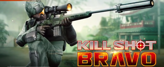 Kill Shot Bravo will shoot onto the App Store soon