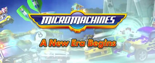 Chillingo's Micro Machines will race onto the scene soon
