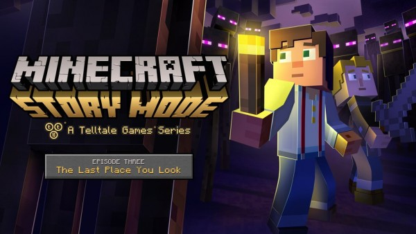 A preview of Minecraft: Story Mode episode 3 is coming