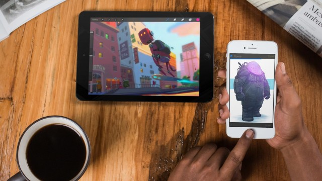 Procreate 3 is ready for iPad Pro and Apple Pencil