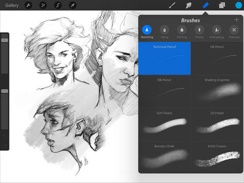 Drawing Straight Lines With Procreate : Procreate is ready for ipad pro and apple pencil