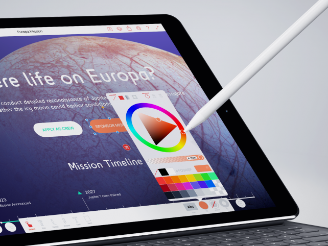Create gorgeous graphics anywhere with ProtoSketch for iPad