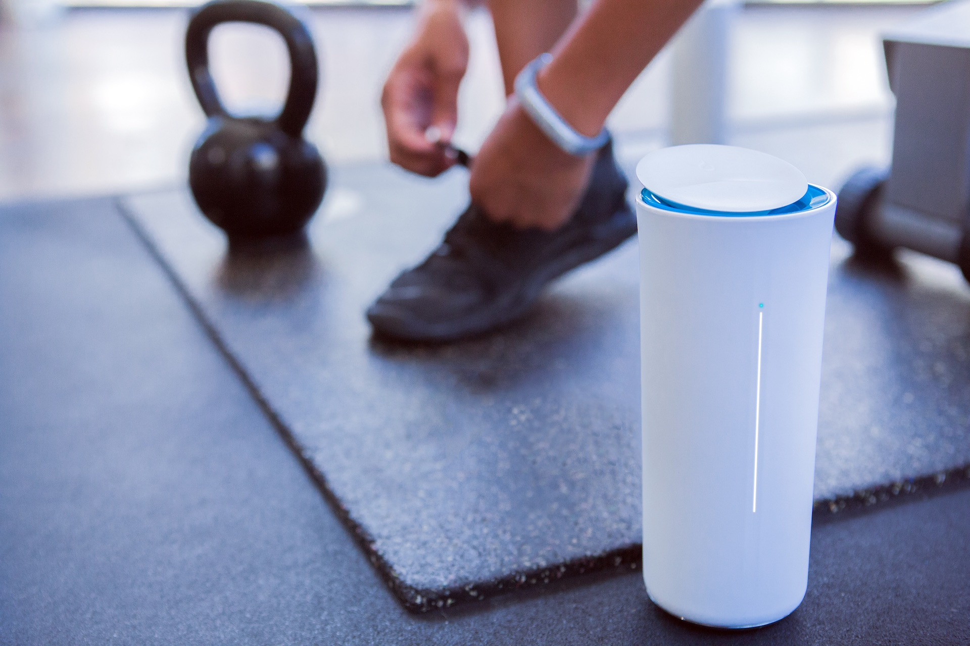 Mark One's Pryme Vessyl keeps you intelligently hydrated
