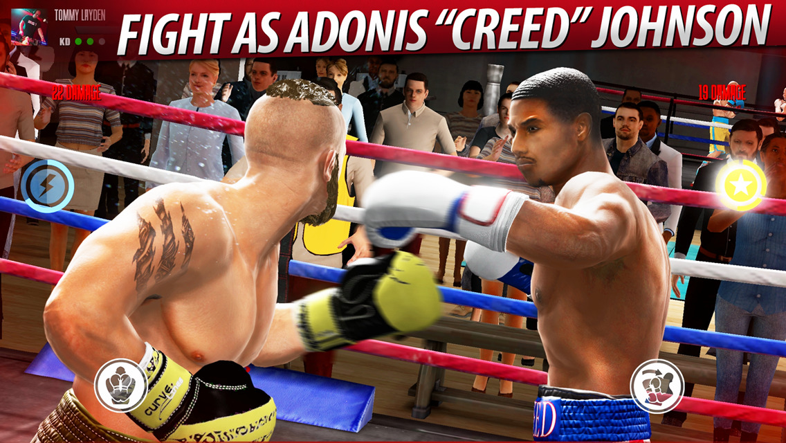 Real Boxing 2 Creed fight