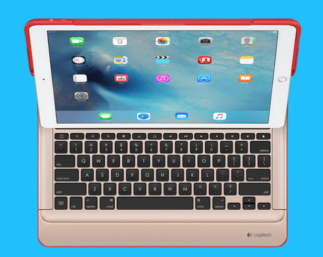 Logitech's Create keyboard case for the iPad Pro.