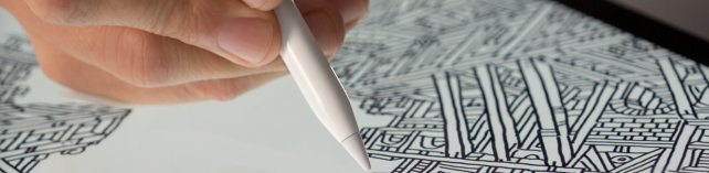 The Apple Pencil allows for ultra-precise input on the iPad Pro.