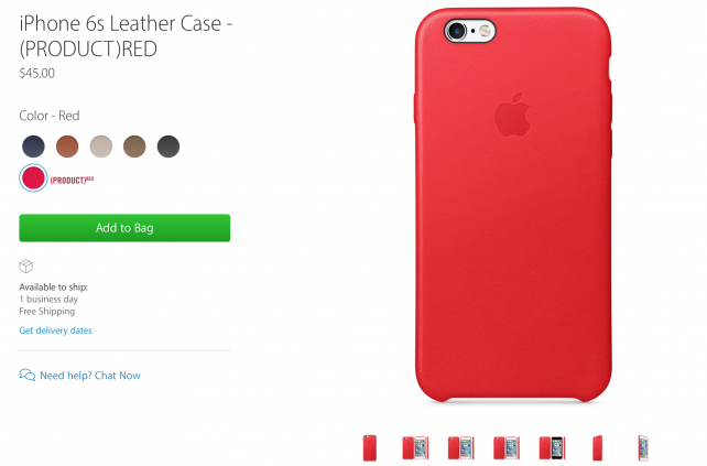 The case at Apple's website.